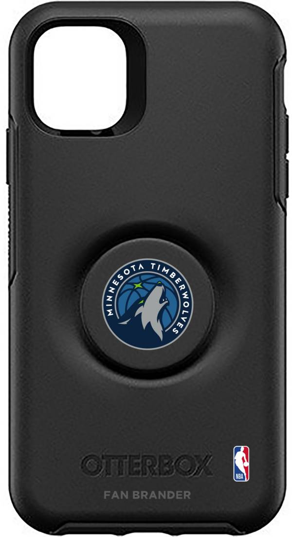 Otterbox Minnesota Timberwolves Black iPhone Case with PopSocket product image