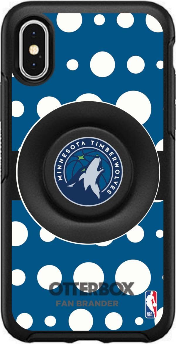 Otterbox Minnesota Timberwolves Polka Dot iPhone Case with PopSocket product image