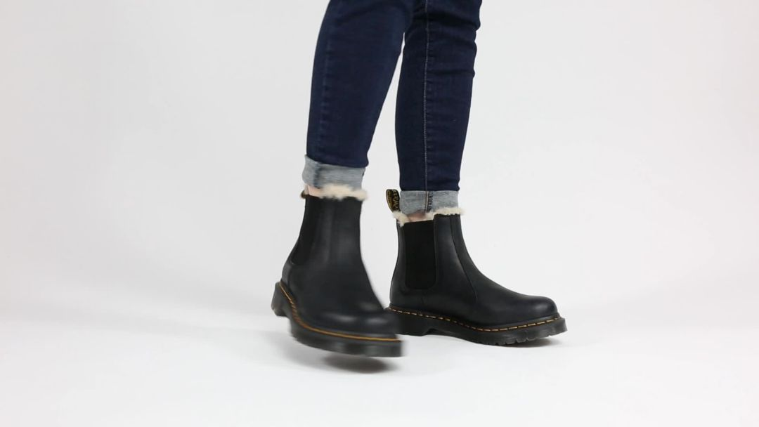 modern and elegant in fashion big discount the best Dr. Martens Women's 2976 Leonore Lined Chelsea Winter Boots
