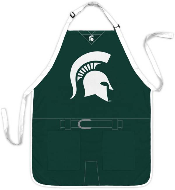 Party Animal Michigan State Spartans Uniform Apron product image