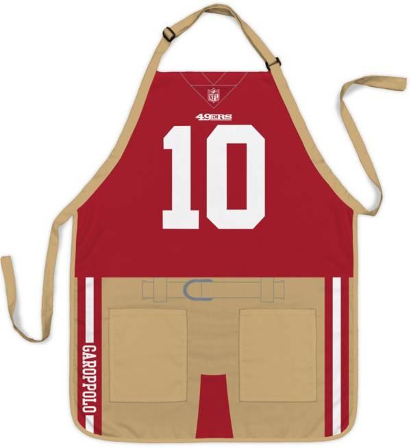 Party Animal San Francisco 49ers Jimmy Garoppolo #10 Uniform Apron product image