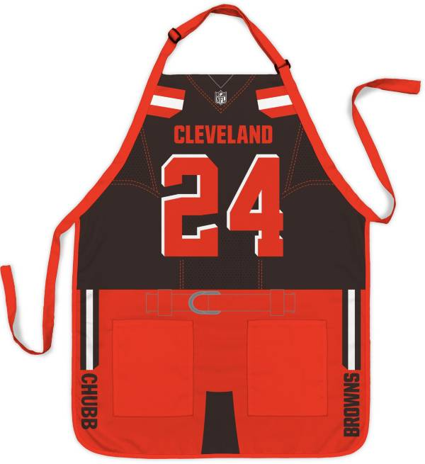 Party Animal Cleveland Browns Nick Chubb #24 Uniform Apron product image
