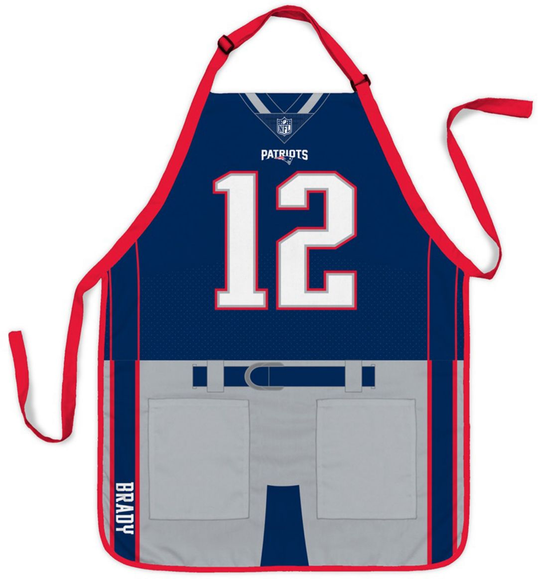 hot sale online b5ec8 4800b Party Animal New England Patriots Tom Brady #12 Uniform Apron