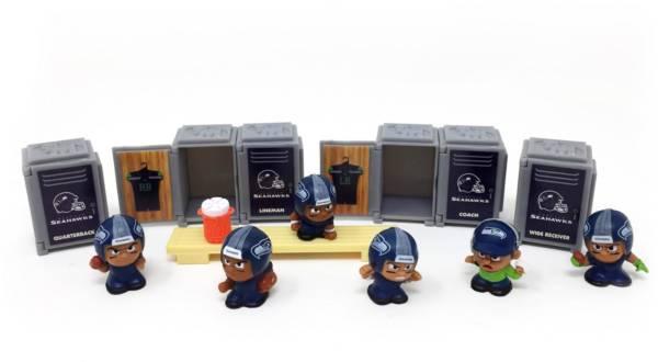 Party Animal Seattle Seahawks TeenyMates Figurine Set product image