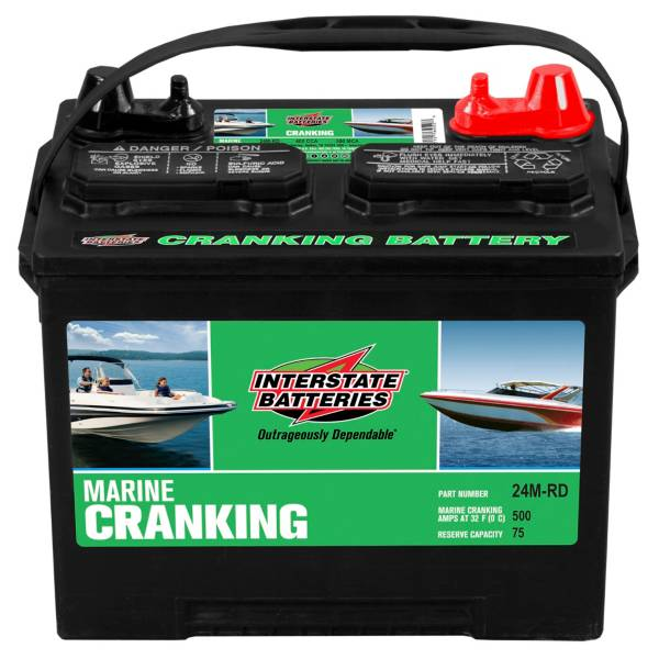 Interstate Batteries 24M-RD Marine Cranking Battery product image