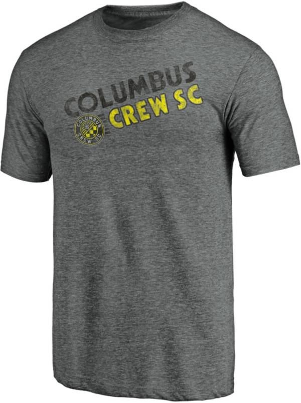 MLS Men's Columbus Crew Retro Speed Grey Tri-Blend T-Shirt product image