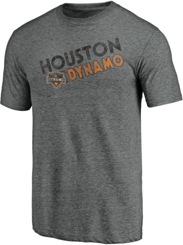 MLS Men's Houston Dynamo Retro Speed Grey Tri-Blend T-Shirt product image