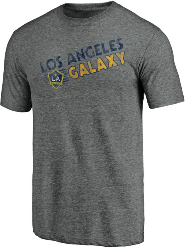 MLS Men's Los Angeles Galaxy Retro Speed Grey Tri-Blend T-Shirt product image