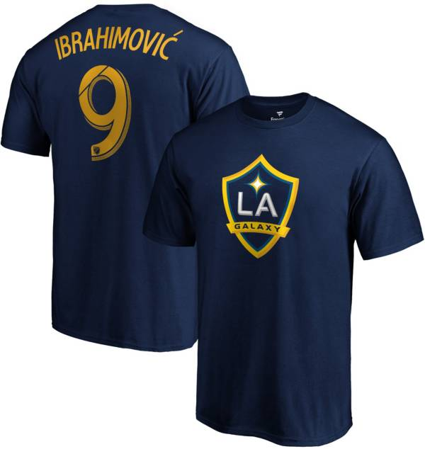 MLS Men's Los Angeles Galaxy Zlatan Ibrahimovic #9 Navy Player T-Shirt product image