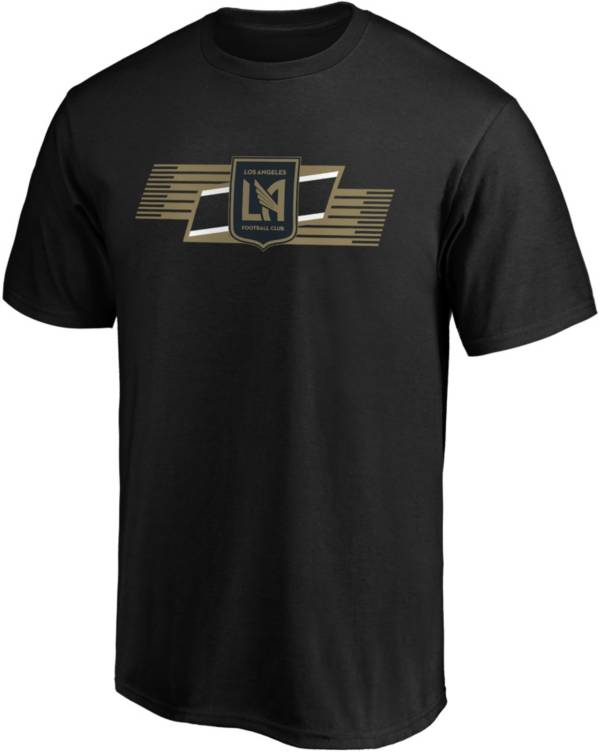 MLS Men's Los Angeles FC Iconic Scarf Black T-Shirt product image