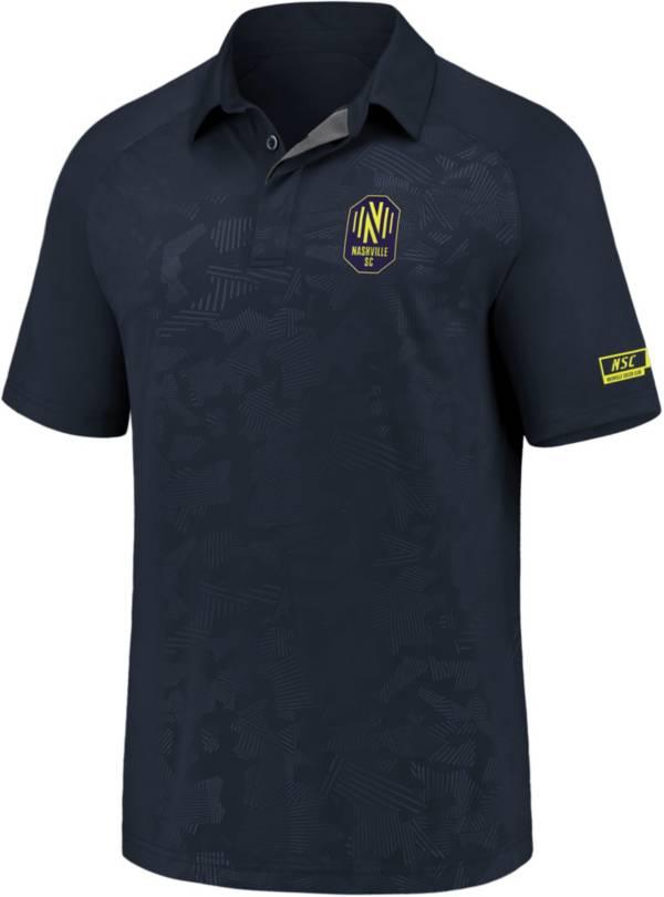 MLS Men's Nashville SC Defender Gray Polo product image