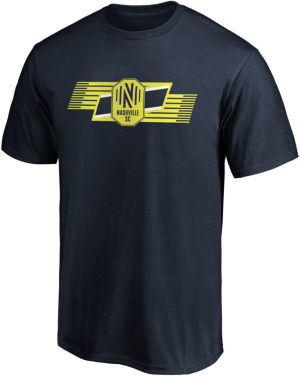 MLS Men's Nashville SC Iconic Scarf Navy T-Shirt product image