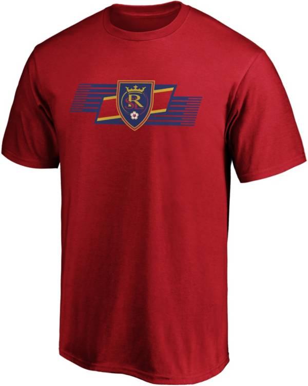 MLS Men's Real Salt Lake Iconic Scarf Red T-Shirt product image