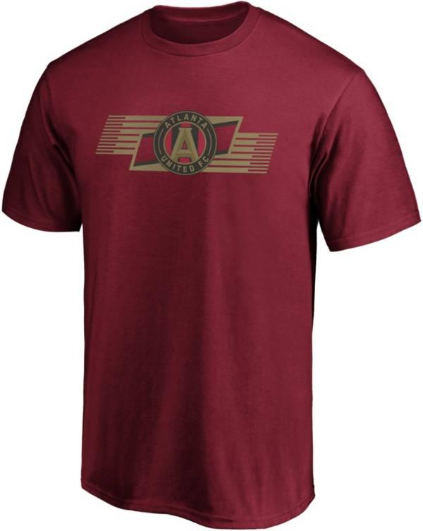 MLS Men's Atlanta United Iconic Scarf Red T-Shirt product image