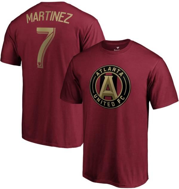 MLS Men's Atlanta United Josef Martinez #7 Red Player T-Shirt product image