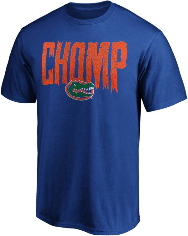NCAA Men's Florida Gators Blue Chomp T-Shirt product image