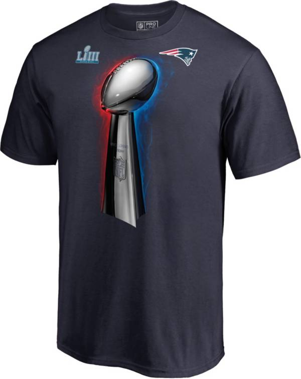 NFL Men's Super Bowl LIII Champions New England Patriots Parade Celebration T-Shirt product image
