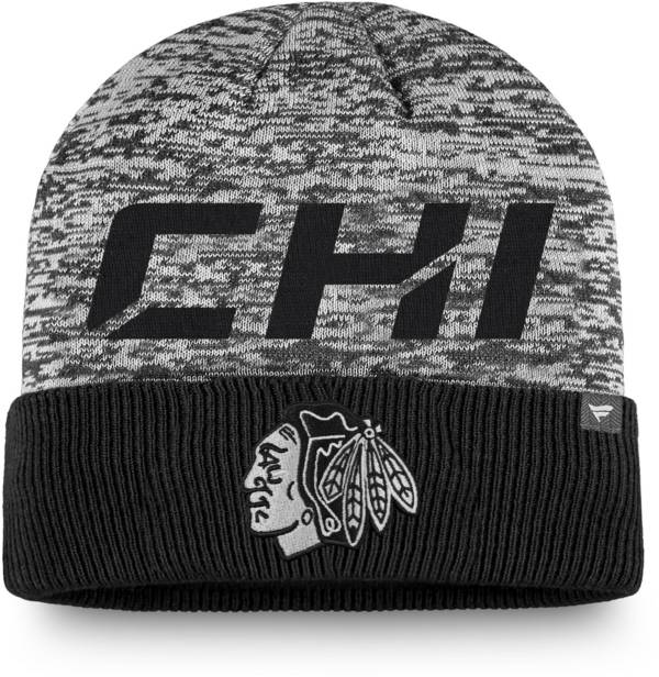 NHL Men's Chicago Blackhawks Clutch Cuffed Knit Beanie product image