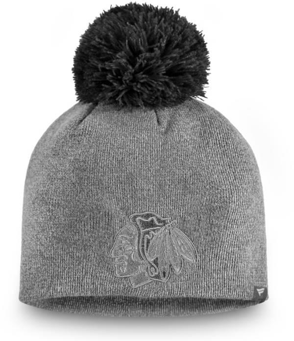 NHL Women's Chicago Blackhawks Marled Pom Kit Beanie product image