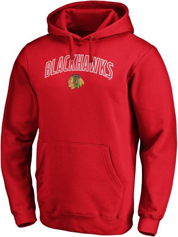NHL Men's Chicago Blackhawks Engage Red Pullover Hoodie product image