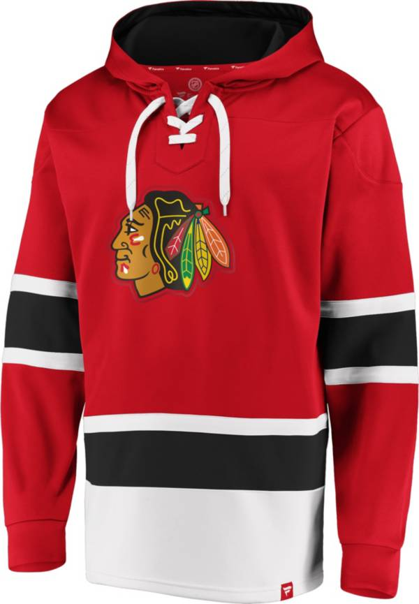 NHL Men's Chicago Blackhawks Power Play Red Pullover Hoodie product image