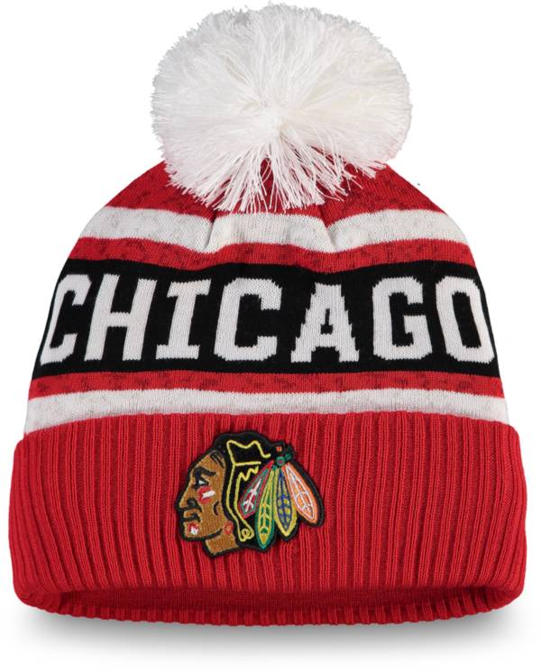 NHL Women's Chicago Blackhawks Pom Knit Beanie product image