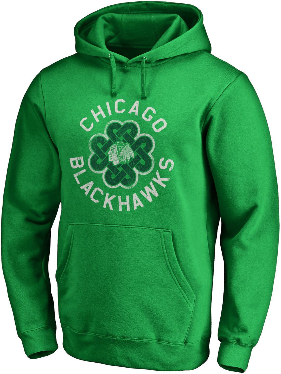 d21fe8058 NHL Men's 2019 St. Patrick's Day Chicago Blackhawks Luck Green ...