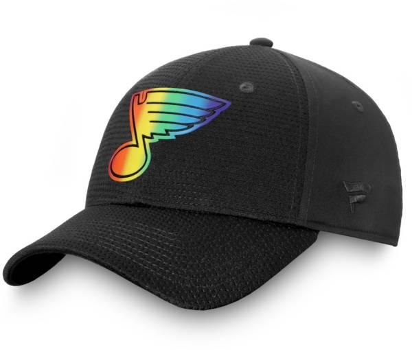NHL Men's St. Louis Blues Authentic Pro Pride Flex Hat product image