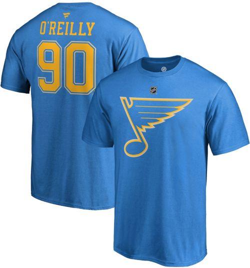 6f9d1407 NHL Men's St. Louis Blues Ryan O'Reilly #90 Blue Player T-Shirt.  noImageFound. Previous