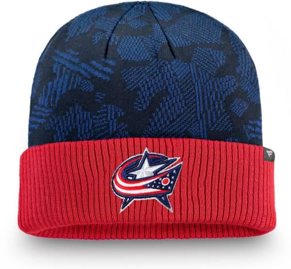 NHL Men's Columbus Blue Jackets Iconic Cuff Knit Beanie product image