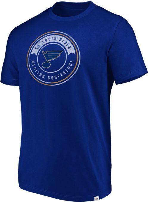 9f35a75c6 Majestic Men s St. Louis Blues Flex Classic Royal T-Shirt. noImageFound.  Previous
