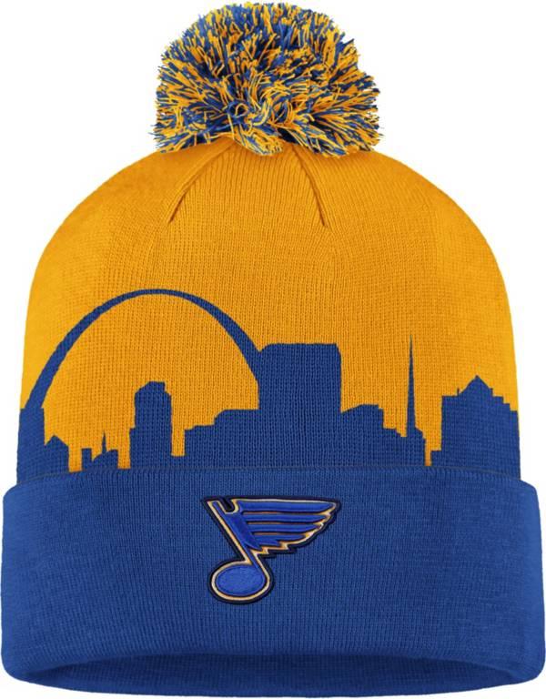 NHL Men's St. Louis Blues Hometown Royal Pom Knit Beanie product image