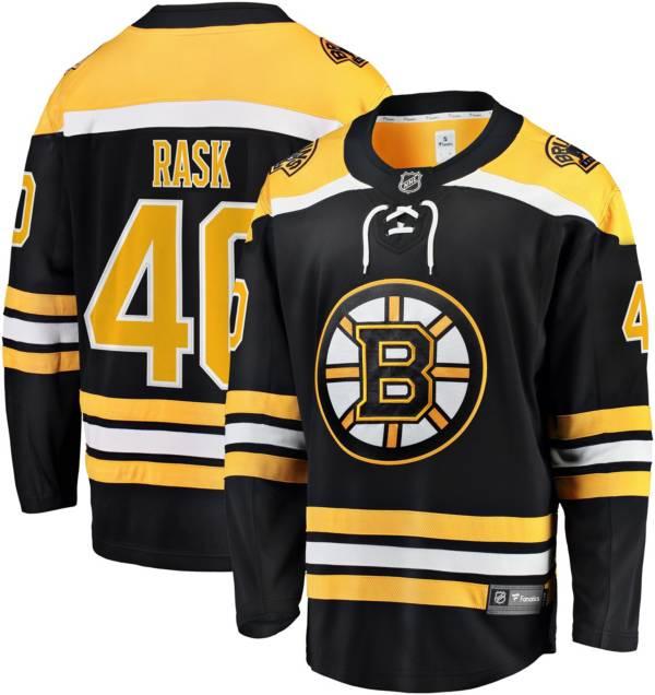 NHL Men's Boston Bruins Tuukka Rask #40 Breakaway Home Replica Jersey product image