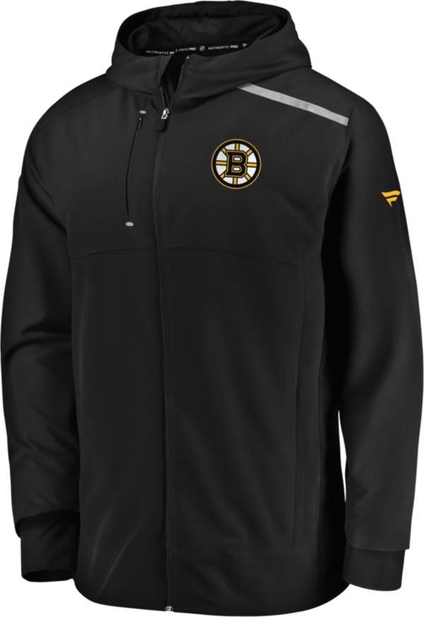 NHL Men's Boston Bruins Clutch Black Full-Zip Parka product image