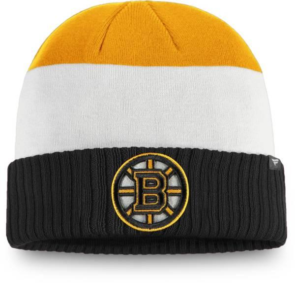 NHL Men's Boston Bruins Alternate Cuff Knit Beanie product image