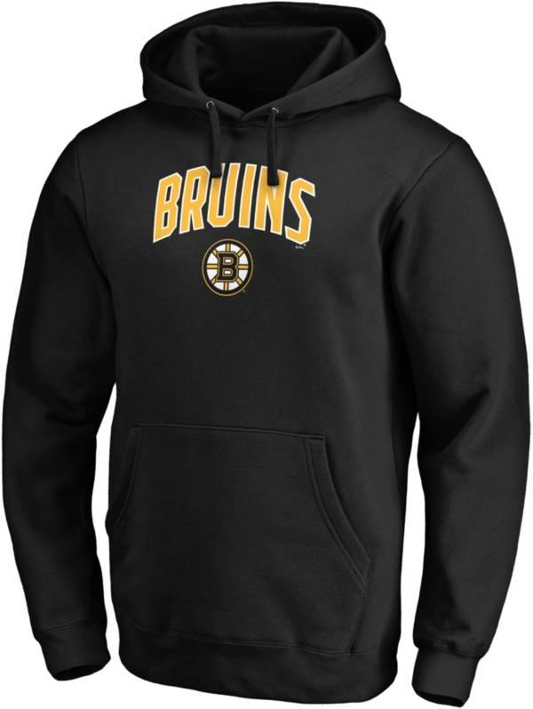 NHL Men's Boston Bruins Engage Black Pullover Hoodie product image