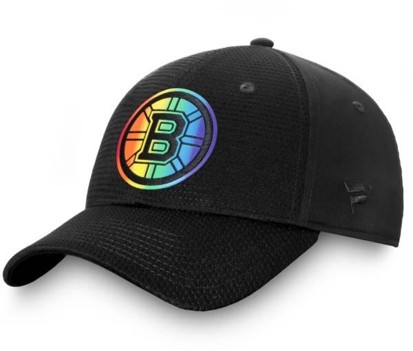 NHL Men's Boston Bruins Authentic Pro Pride Flex Hat product image