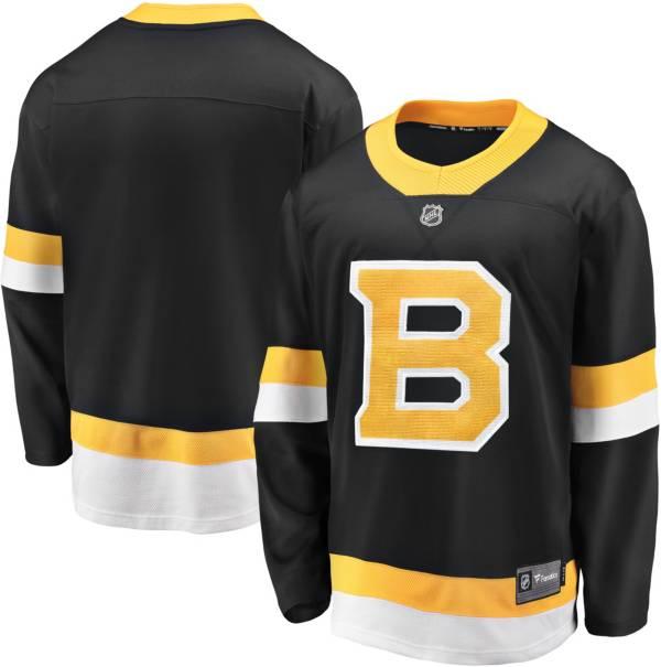 NHL Men's Boston Bruins Breakaway Alternate Replica Jersey product image
