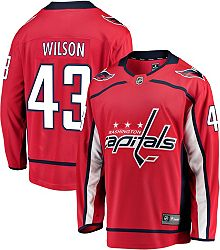 reputable site b5b67 89ad6 NHL Men's Washington Capitals Tom Wilson #43 Breakaway Home Replica Jersey