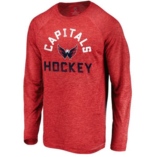 NHL Men's Washington Capitals Breezer Red Long Sleeve Shirt product image