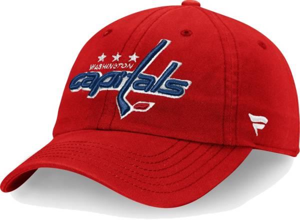 NHL Men's Washington Capitals Core Red Adjustable Hat product image