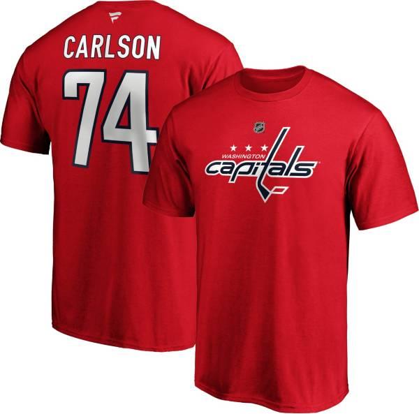 NHL Men's Washington Capitals John Carlson #74 Orange Player T-Shirt product image