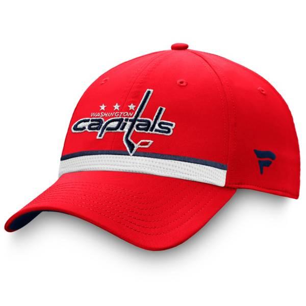 NHL Men's Washington Capitals Authentic Pro Draft Red Flex Hat product image