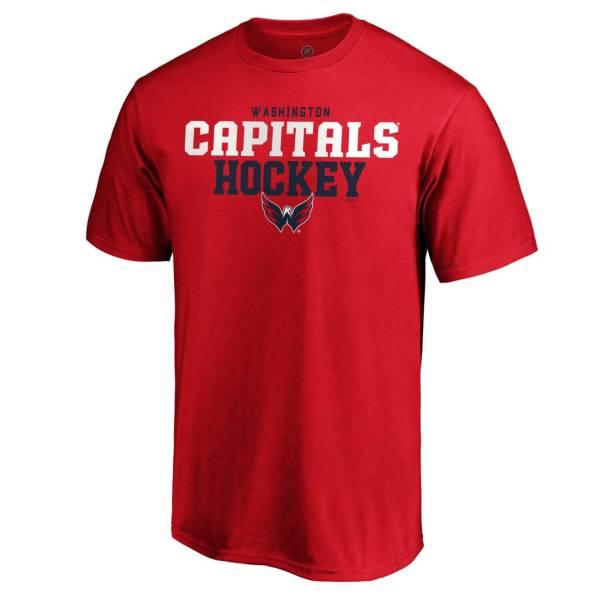 NHL Men's Washington Capitals Iconic Red T-Shirt product image