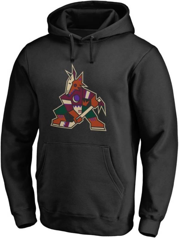 NHL Men's Arizona Coyotes Alternate Logo Black Pullover Hoodie product image