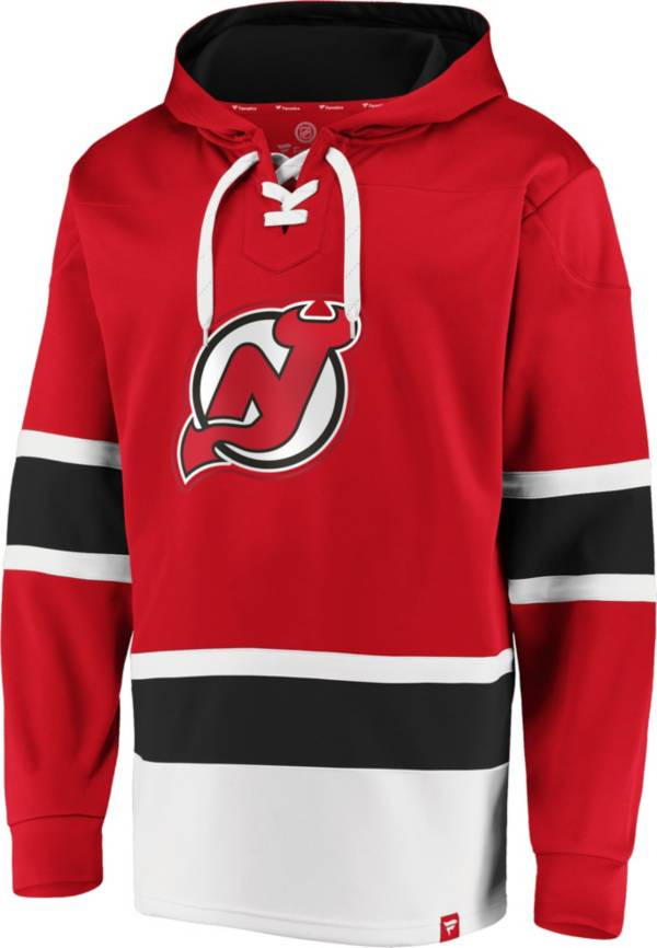 NHL Men's New Jersey Devils Power Play Red Pullover Hoodie product image