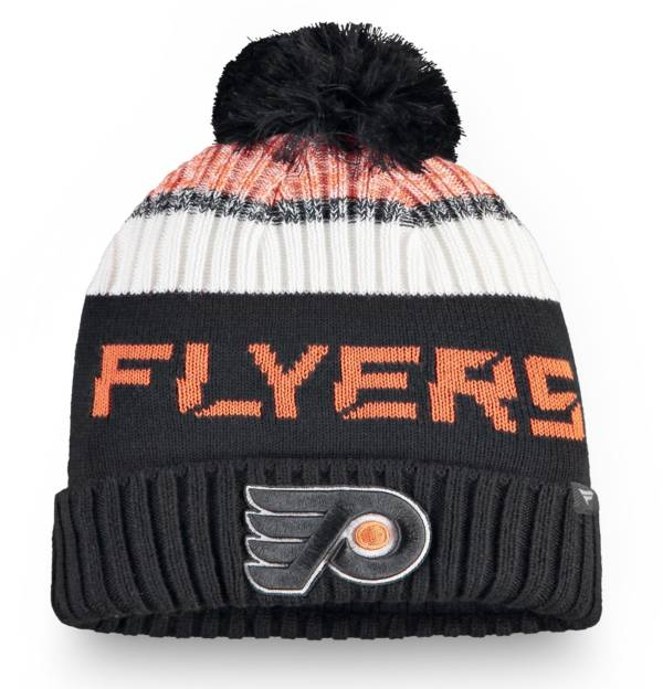 NHL Men's Philadelphia Flyers Rinkside Pom Knit Beanie product image
