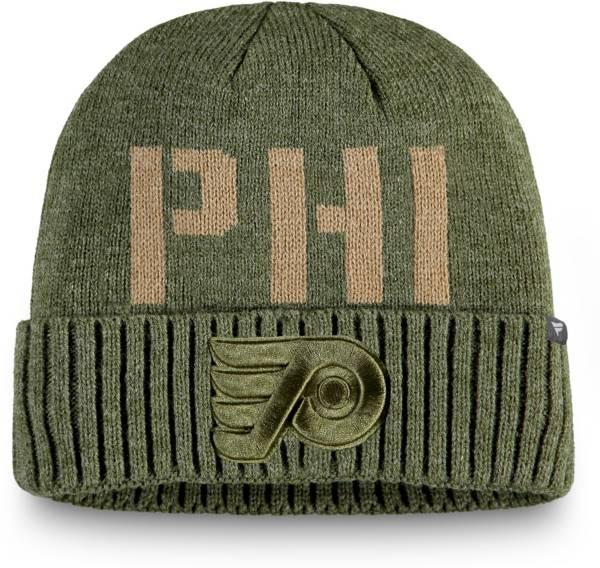 NHL Men's Philadelphia Flyers Modern Utility Cuff Knit Beanie product image
