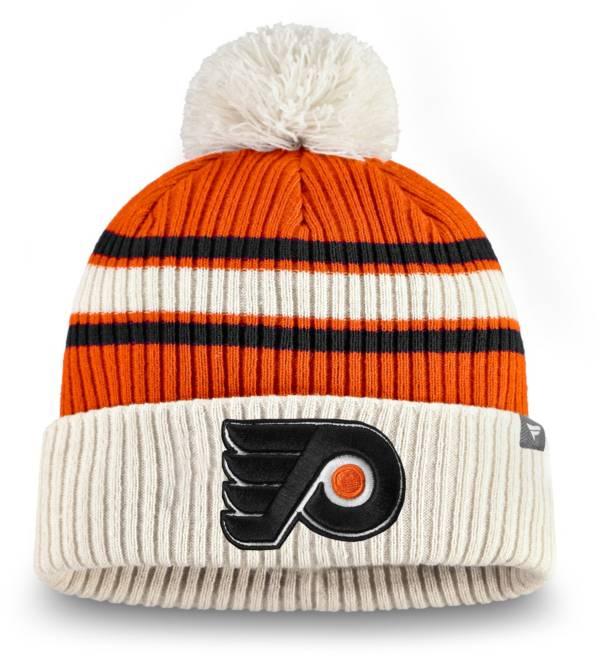 NHL Men's Philadelphia Flyers Classic Pom Knit Beanie product image