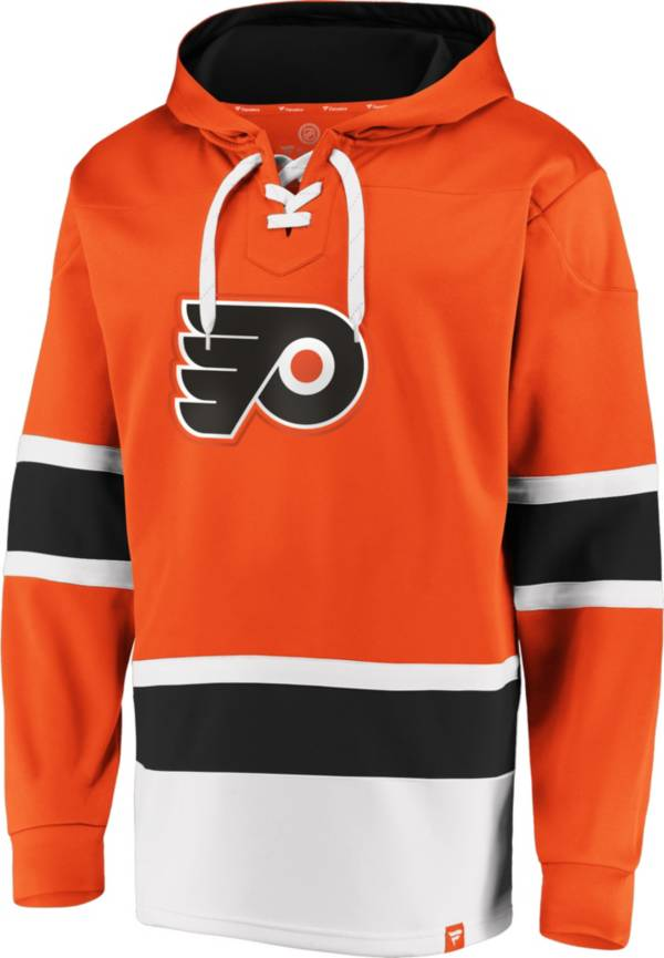 NHL Men's Philadelphia Flyers Power Play Orange Pullover Hoodie product image